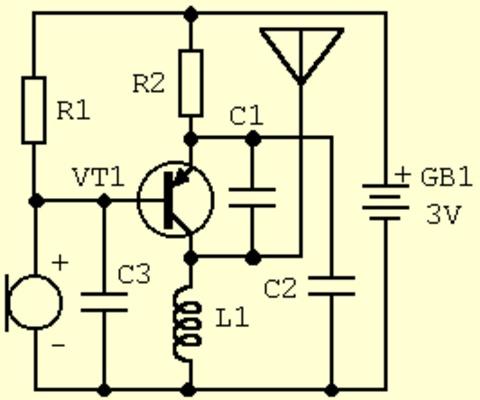 Схемы простых радиоприемников