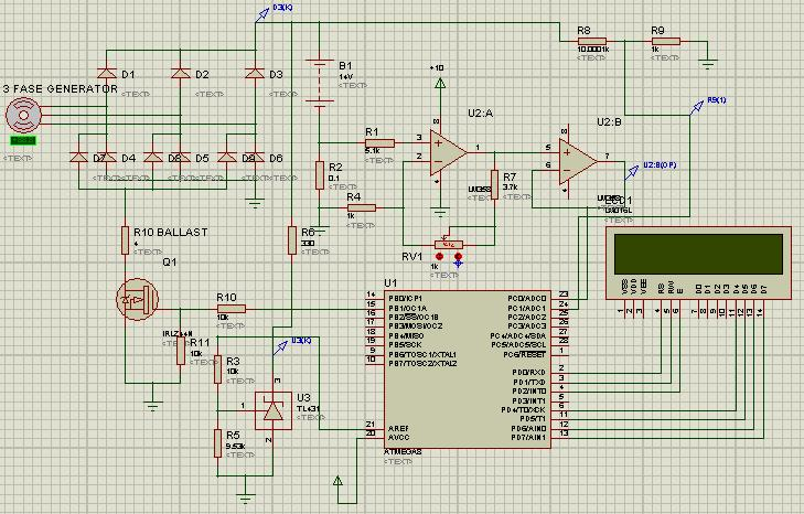 Я контроллер ветрогенератора