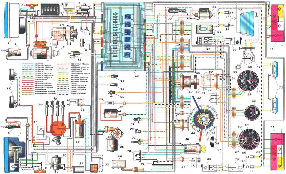 схема подключения проводов электробензонасоса ваз 2115