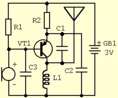 Схема схемы радиоэлектроника
