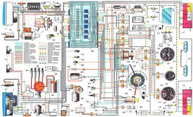 Ваз 21099 схема генератора фото 652