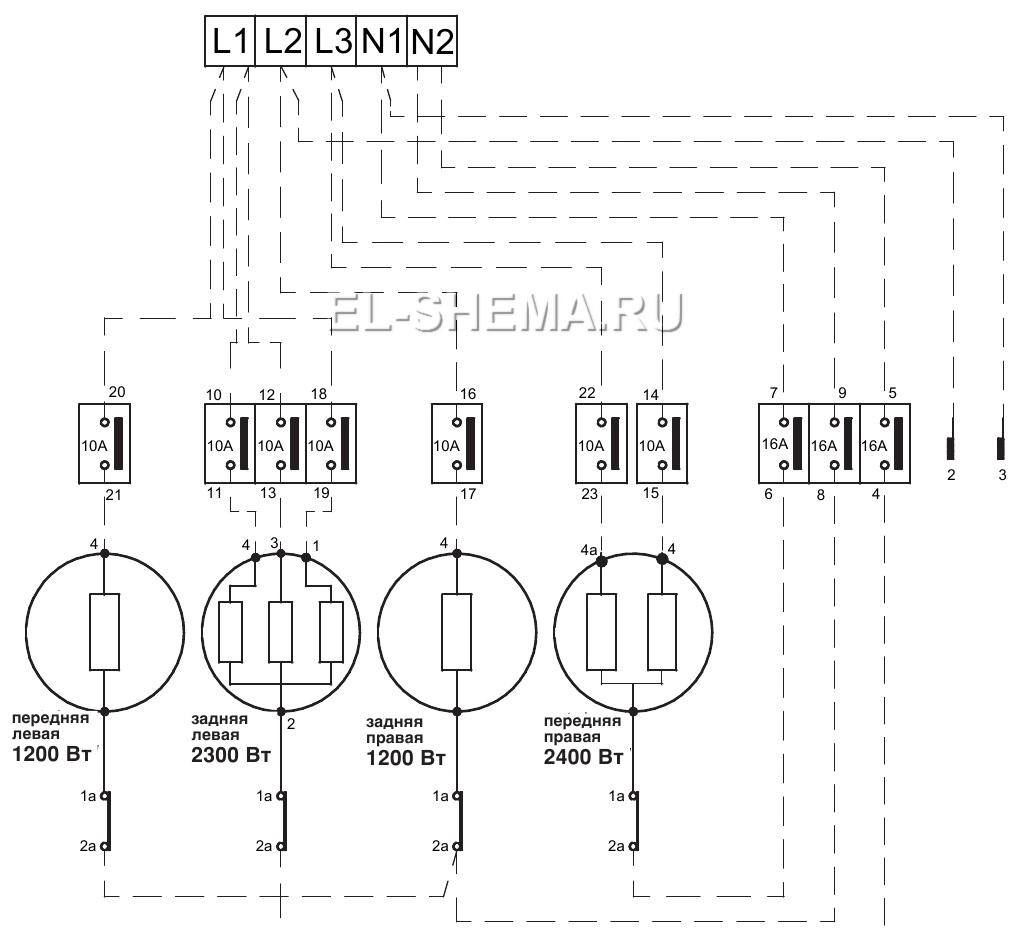 монтажная схема для встраиваемой посудомоечной машины