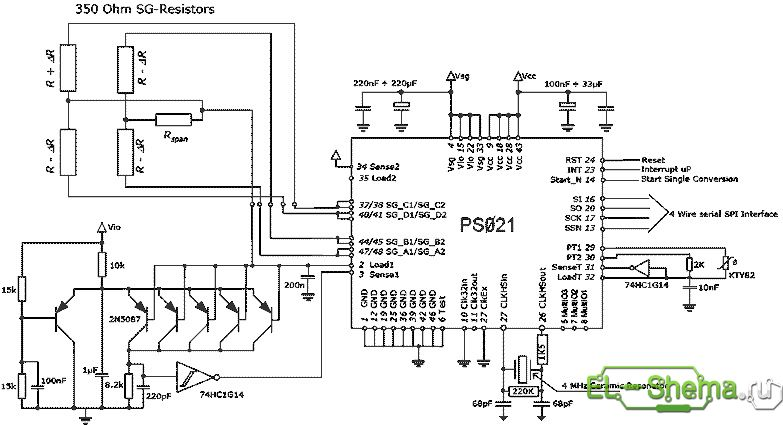 Схема домашних электронных