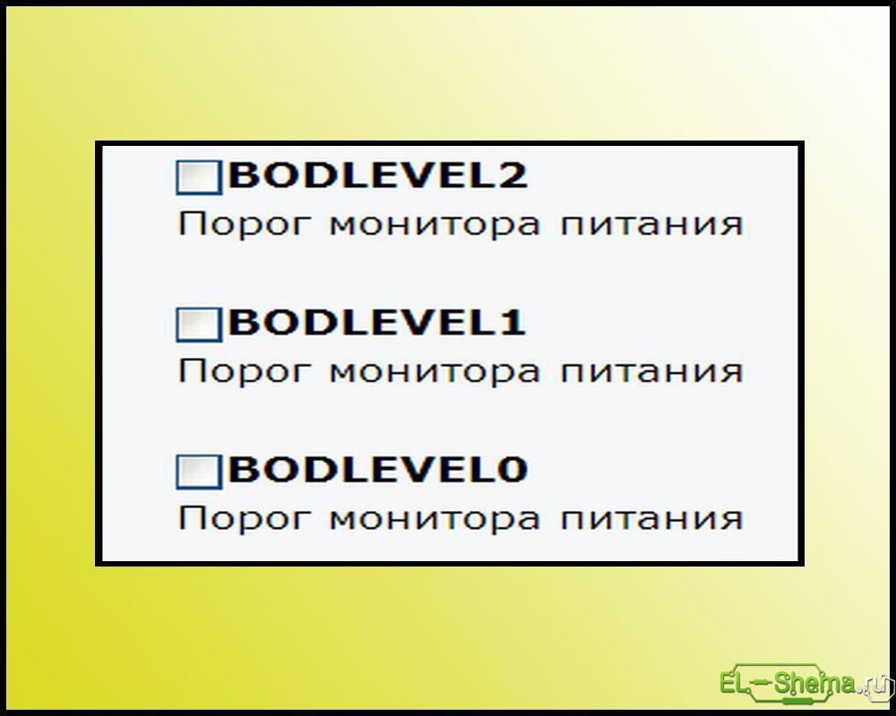 bod level
