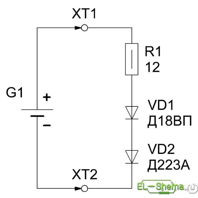 Схема простейшего разрядного 2