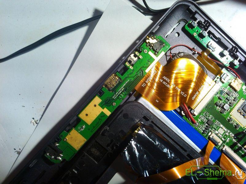 Ремонт планшета ainol novo 10 hero quad core 2