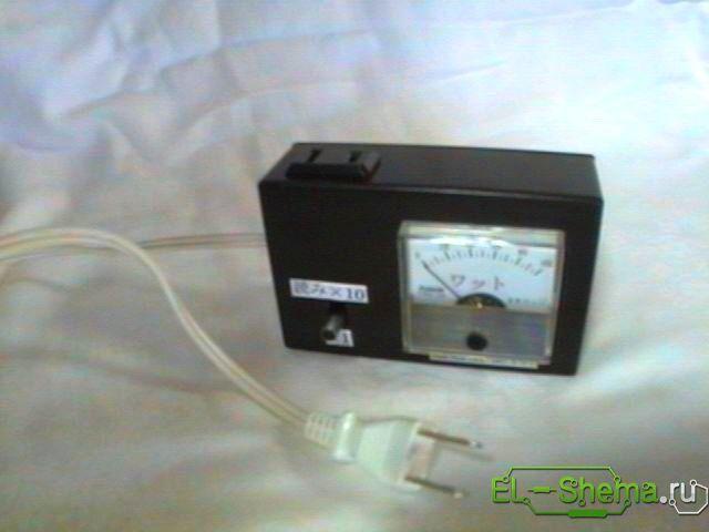 конструкция самодельного измерителя мощности
