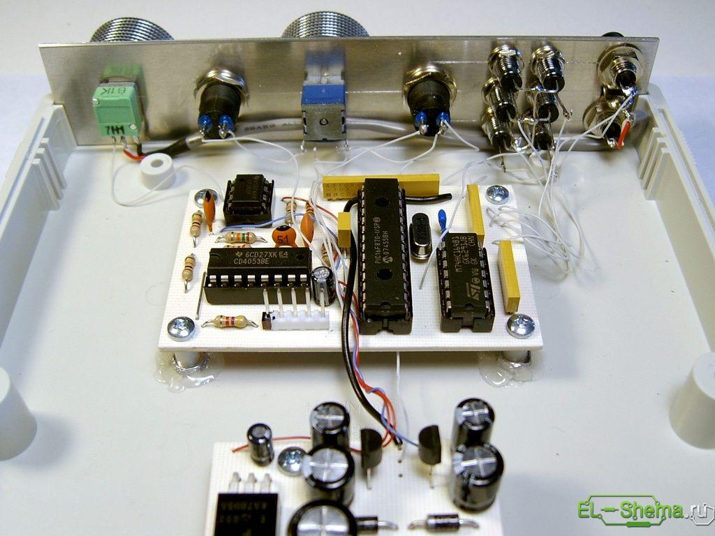 схема генератора на atmega