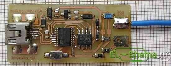 Самодельный осциллограф для компьютера