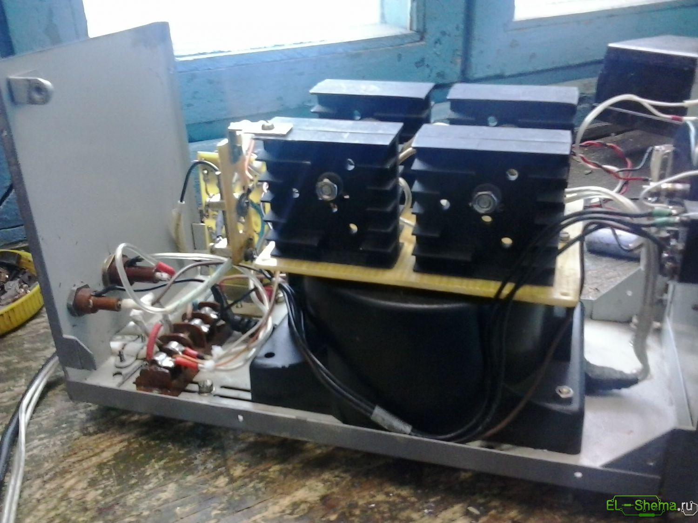 зарядное устройство 12-24в схема