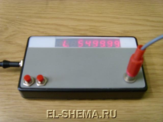 Eselit.com : Схемы : Микроконтроллеры : Частотомер на микроконтроллере PIC16F628A.