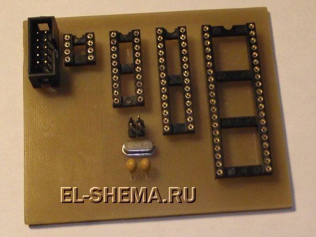 Собранный USB программатор AVR