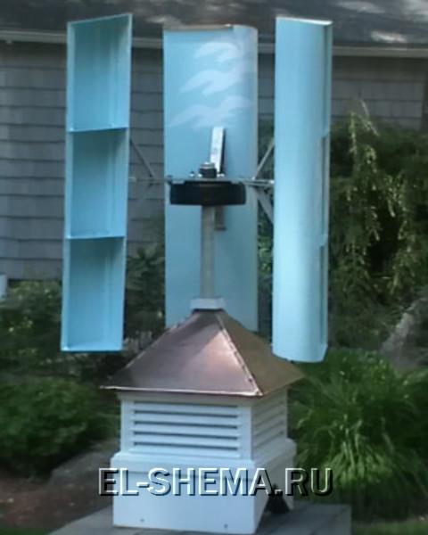 Если раньше генератор ветряка