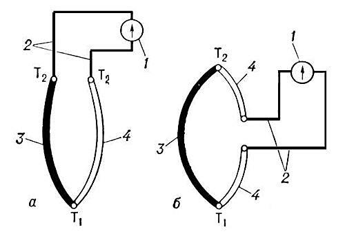 Схема Термопары