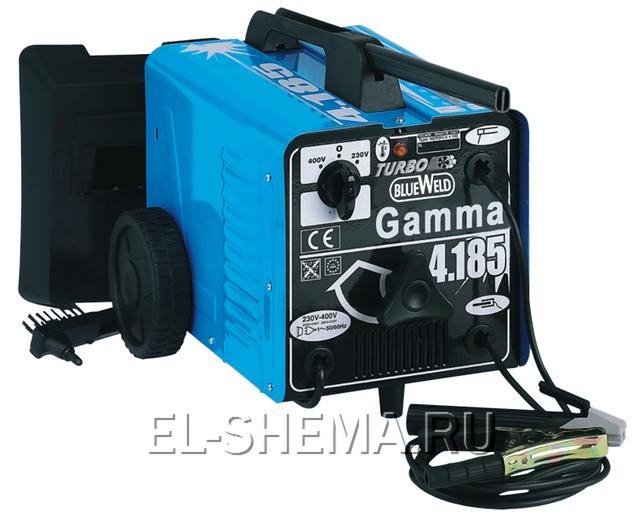 сварочный аппарат на примере сварки фирмы BlueWeld