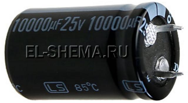 электролитический конденсатор помехоподавляющего фильтра