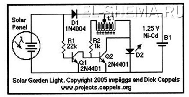 схемотехника преобразователей для сверхъярких светодиодов
