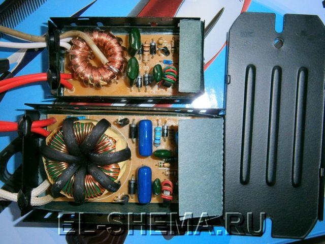 Изготовление лампового УНЧ - электронный трансформатор.