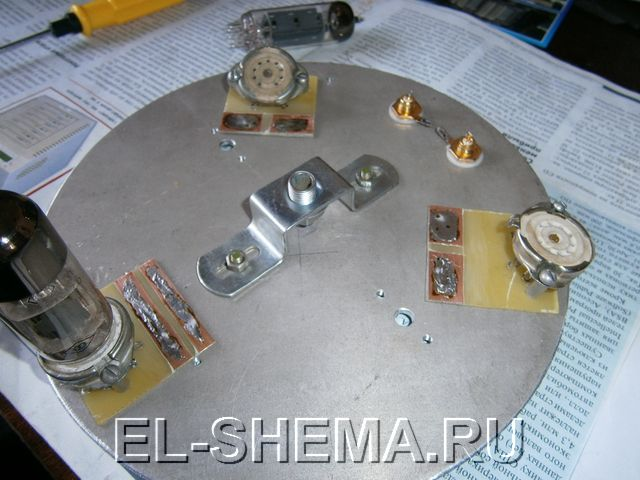 Сборка лампового усилителя на 6Н23П и 6П14П