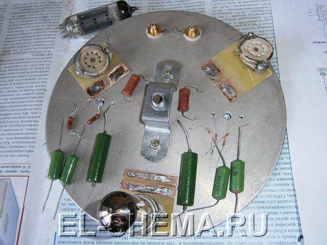 Детали для простого лампового стереофонического усилителя на 6Н23П и 6П14П