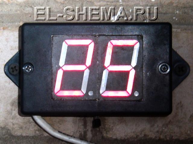 Фото самодельного термометра