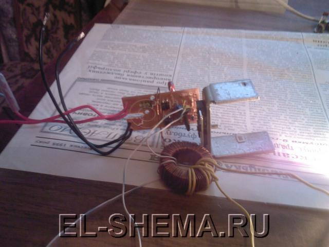Зарядное устройство из бп для автомобильного аккумулятора