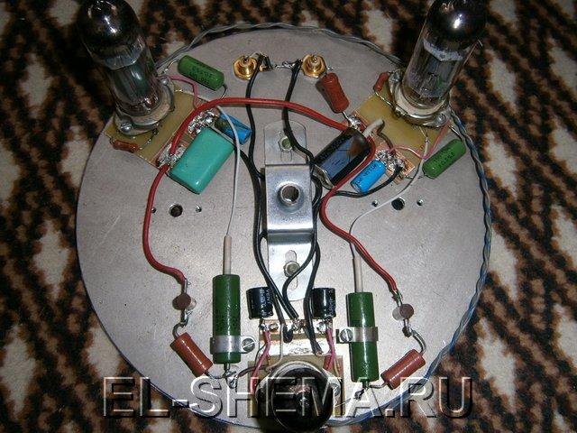 Изготовление лампового усилителя на 6П14П