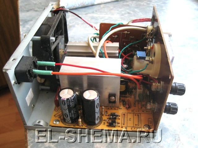 Схема простой переделки блока питания ATX, для возможности использовать его как зарядное устройство автоаккумулятора.