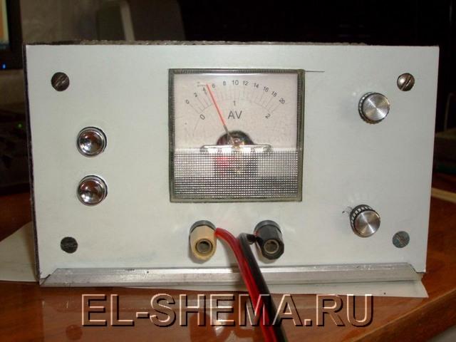 Изготовление зарядное устройство для автоаккумулятора.