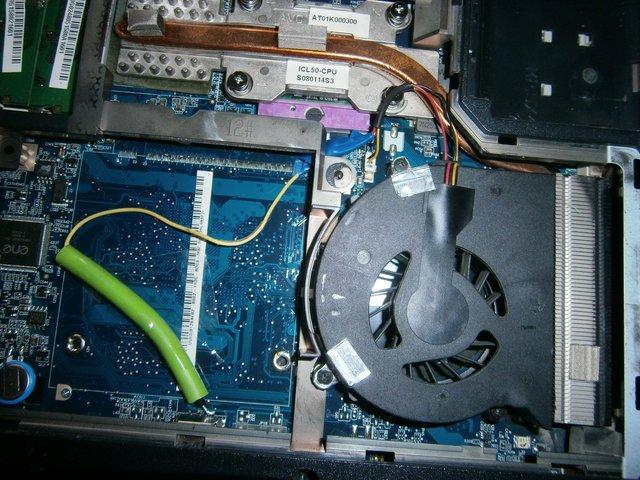 Почему не работает в ноутбуке вентилятор