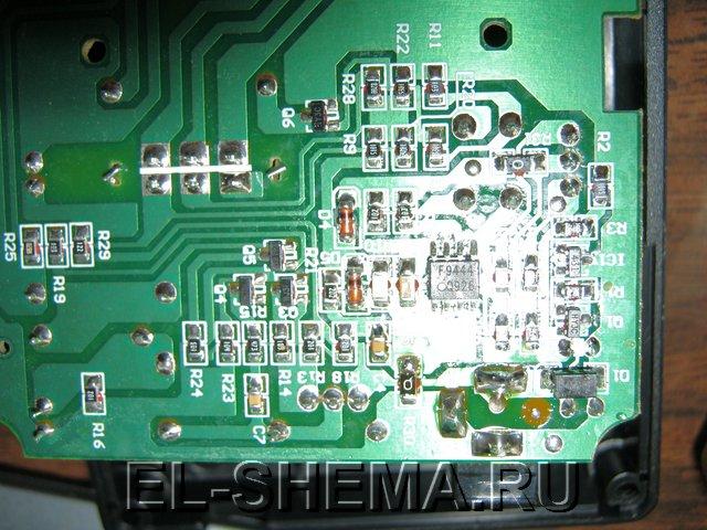 Микропроцессор f9444 который контролирует заряд