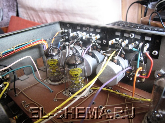 Схемы ламповых усилителей стерео