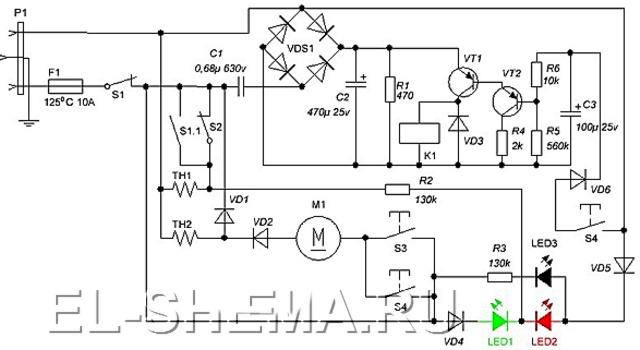 Приеме выходного сигнала с таймера причем электронная схема таймера содержит генератор для.