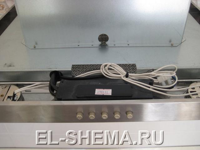 Описание работы электрической части вытяжки