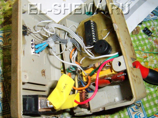 Терморегулятор на мк 19