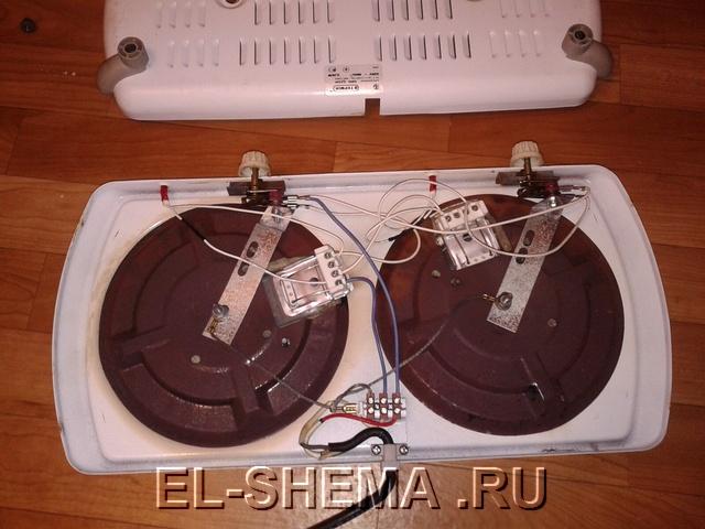 Ремонт настольной электрической плитки своими руками 61