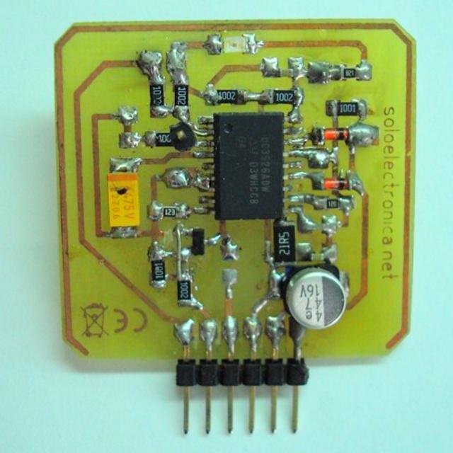 схема модуля генератора