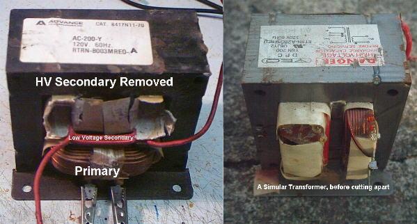 Силовой трансформатор перемотанный для ПН
