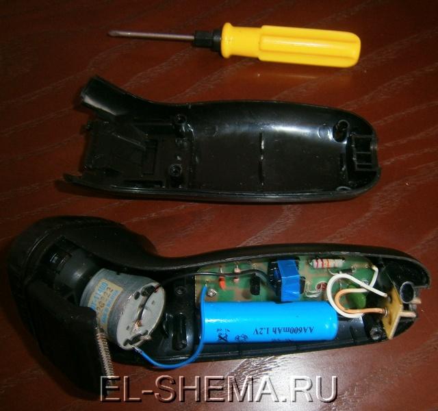 Ремонт электробритвы филипс своими руками 33
