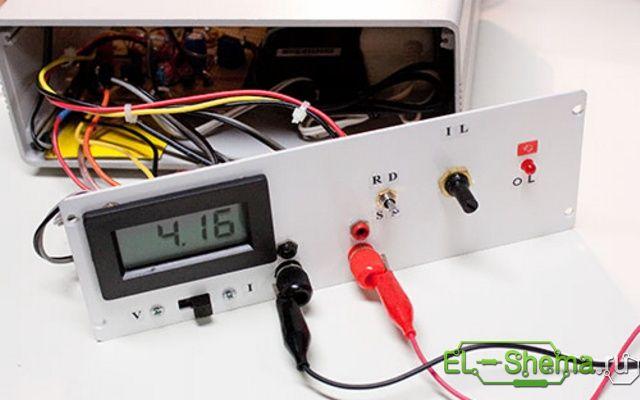Диод 1N4001 защищает MOSFET