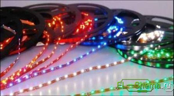 Светодиодная лента для ЦМУ