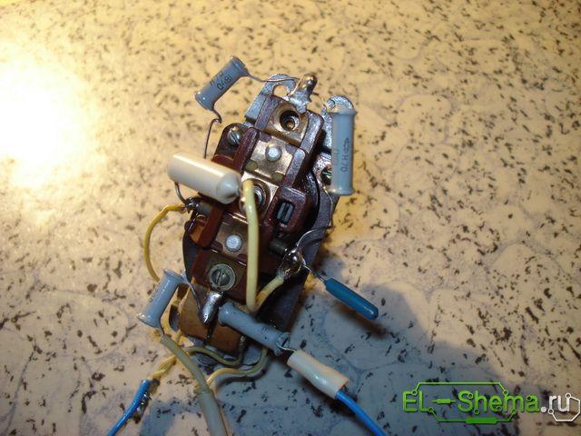 Коллекторный двигатель переменного тока 220в схема подключения фото 233
